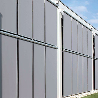 sun protection for curtain walls