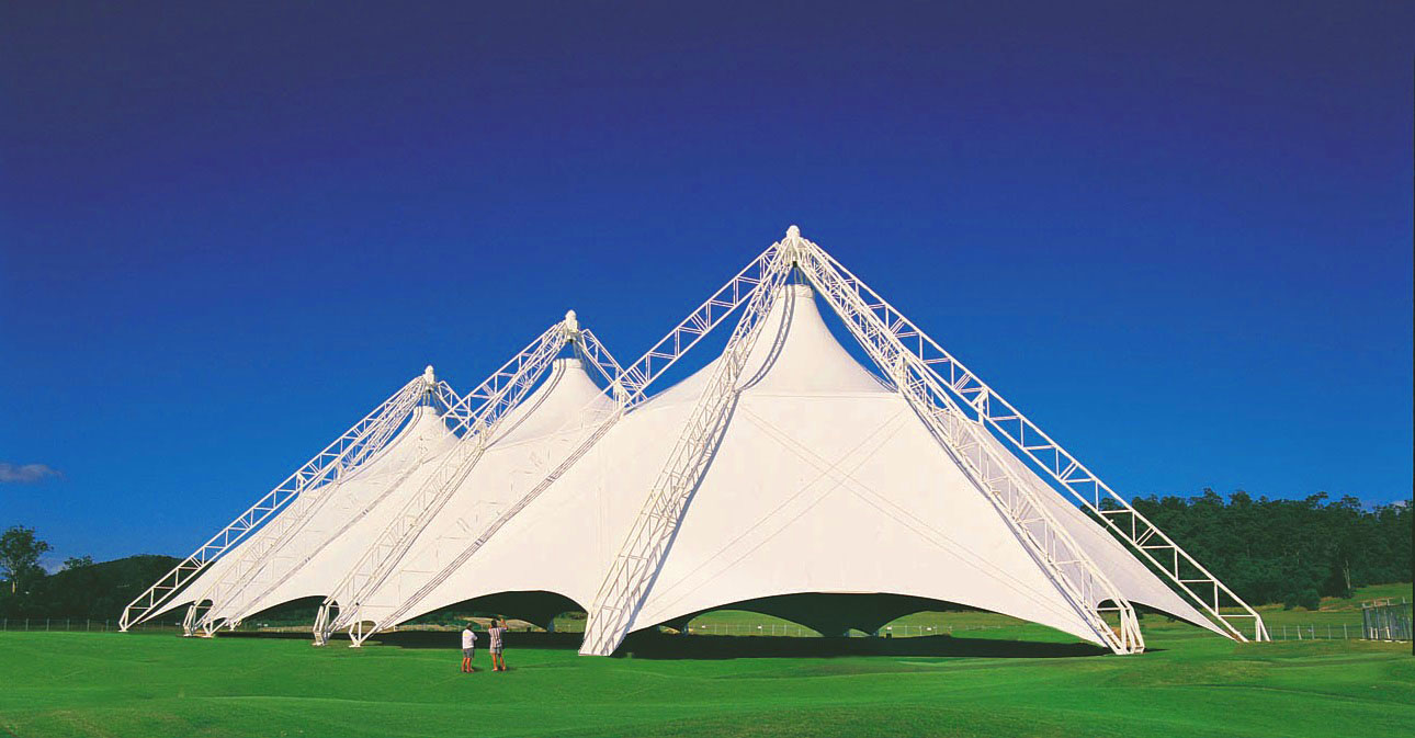 tensile structures for agricultural use