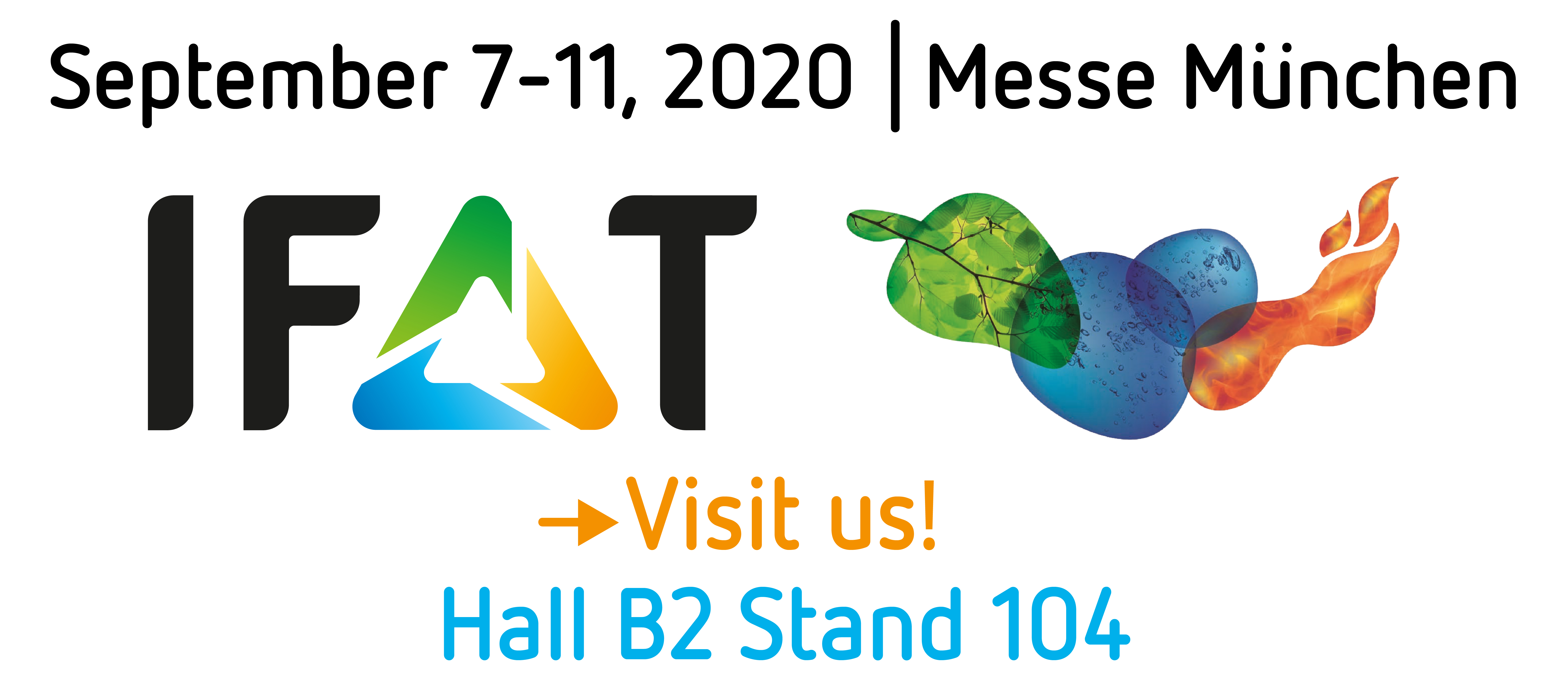 IFAT 2020 - NEW DATE